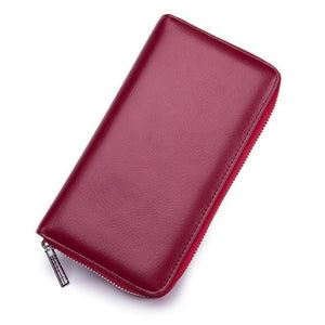 Jenary Wallet Red Elegant Simple Design Wallet