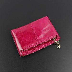 Jenary Wallet Rose Red Cute Coin Purse