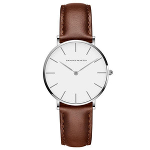 Jenary Watch CB36-FK Elegant Design Hannah Martin Leather Watch