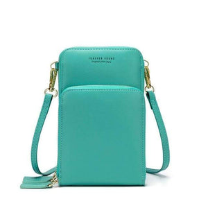 TINKIN Official Store Shoulder Bags C-light green Drop Shipping Colorful Cellphone Bag Fashion Daily Use Card Holder Small Summer Shoulder Bag for Women|Shoulder Bags