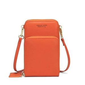 TINKIN Official Store Shoulder Bags C-orange Drop Shipping Colorful Cellphone Bag Fashion Daily Use Card Holder Small Summer Shoulder Bag for Women|Shoulder Bags