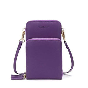 TINKIN Official Store Shoulder Bags C-purple Drop Shipping Colorful Cellphone Bag Fashion Daily Use Card Holder Small Summer Shoulder Bag for Women|Shoulder Bags