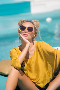 Tarida Top - In Sunshine Gold