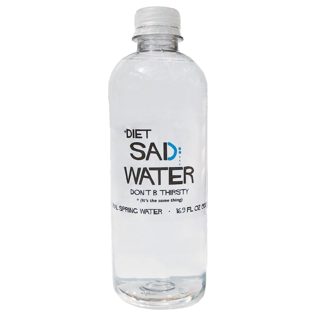 DIET SAD WATER 16 OZ.