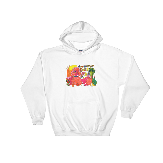 AMBER MCCALL x SAD WATER HOODED SWEATSHIRT (POODLE)