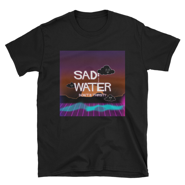 SAD WATER VAPORWAVE T-SHIRT