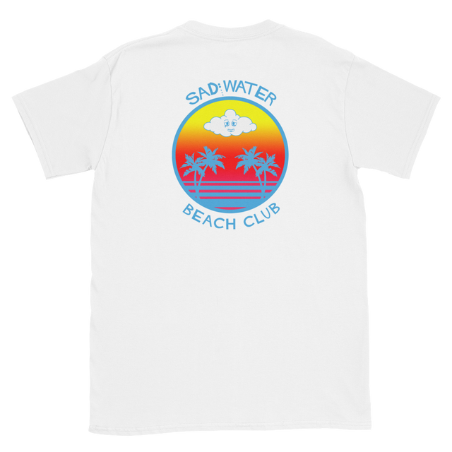 SAD WATER BEACH CLUB T-SHIRT