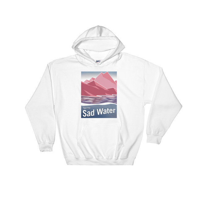 SUGAR-FREE SAD WATER HOODED SWEATSHIRT