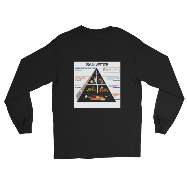 SAD GUIDE PYRAMID LONG SLEEVE T-SHIRT