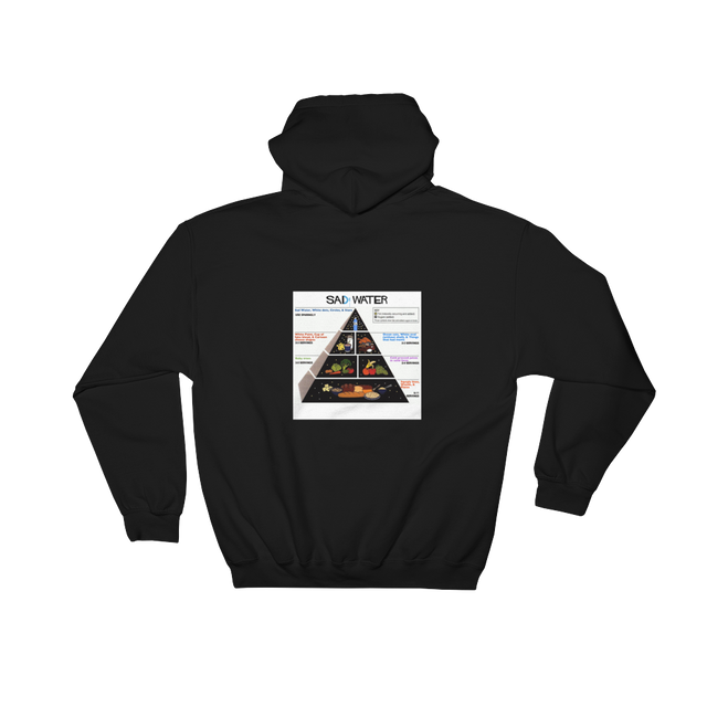 SAD GUIDE PYRAMID HOODED SWEATSHIRT