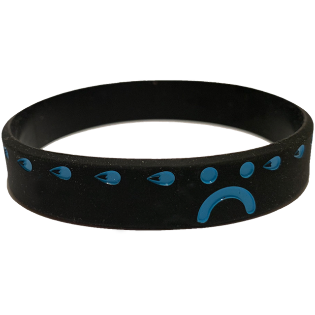 SAD WATER BRACELET (BLACK)