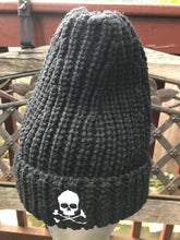 Load image into Gallery viewer, Midnight Cable Ribbed Skull Cap - Multiple Colors
