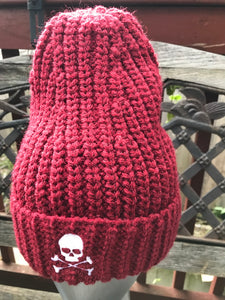 Midnight Cable Ribbed Skull Cap - Multiple Colors