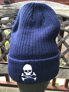 Ribbed Skull Cap - Multiple Colors