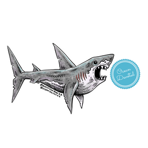 Sharky Sticker