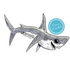 Load image into Gallery viewer, Mako Shark