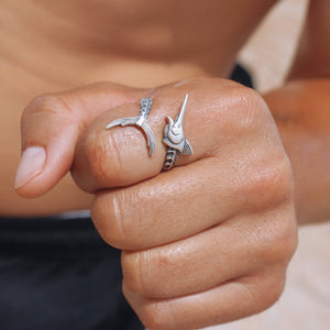 Sterling Silver Sail Fish Ring