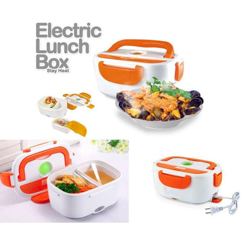 Electric Lunch Box, White