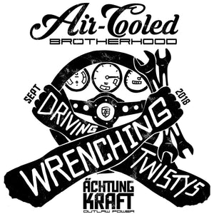 Porsche Air-Cooled Brotherhood - Driving Twistys and Wrenching