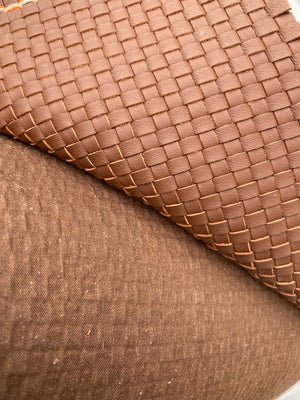 Woven Leather Wallet – Ächtung Kraft Leather