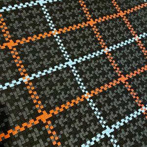 Synthetic Woven Leather Solid and Custom Patterns (Tartan, Houndstooth, Custom)