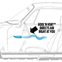 Load image into Gallery viewer, Kool'n Duct - 911 Under dash duct for better air flow - SOLD ONE (1) PER ORDER