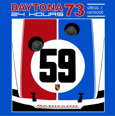 Brumos Porsche 1973 RSR at Daytona