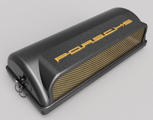 CIS Porsche 911 Air Filter Cover - Real Carbon Fiber