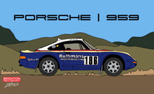 Load image into Gallery viewer, Porsche 959 Rothmans Rally Car
