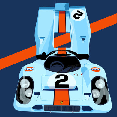 Porsche 917 Illustration
