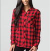 Ladies Flannel Shirt