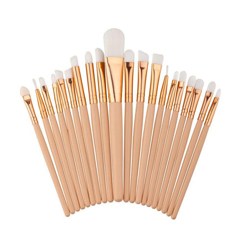 All Gold Everything Brushes 20pc