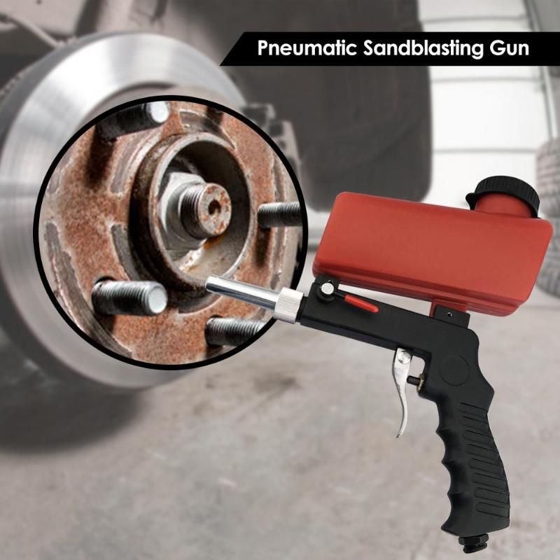 Portable Sand Blaster Cleaning Brake Rust