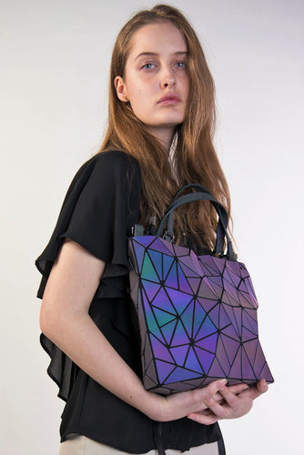 Trendy Tote™️- Geo-Holographic Purse