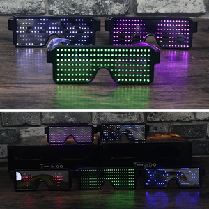 8 Modes Quick Flash Led Party Glasses