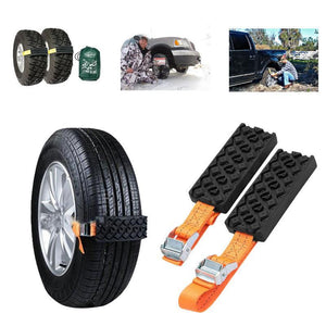 Anti-Skid Emergency Tire Straps (Set Of 2)