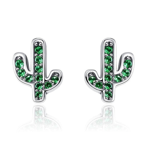 Cactus Crystal Earrings