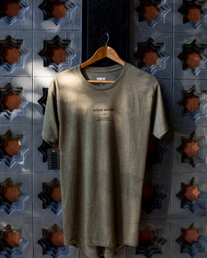 Men's Drop Hem Urban Tee