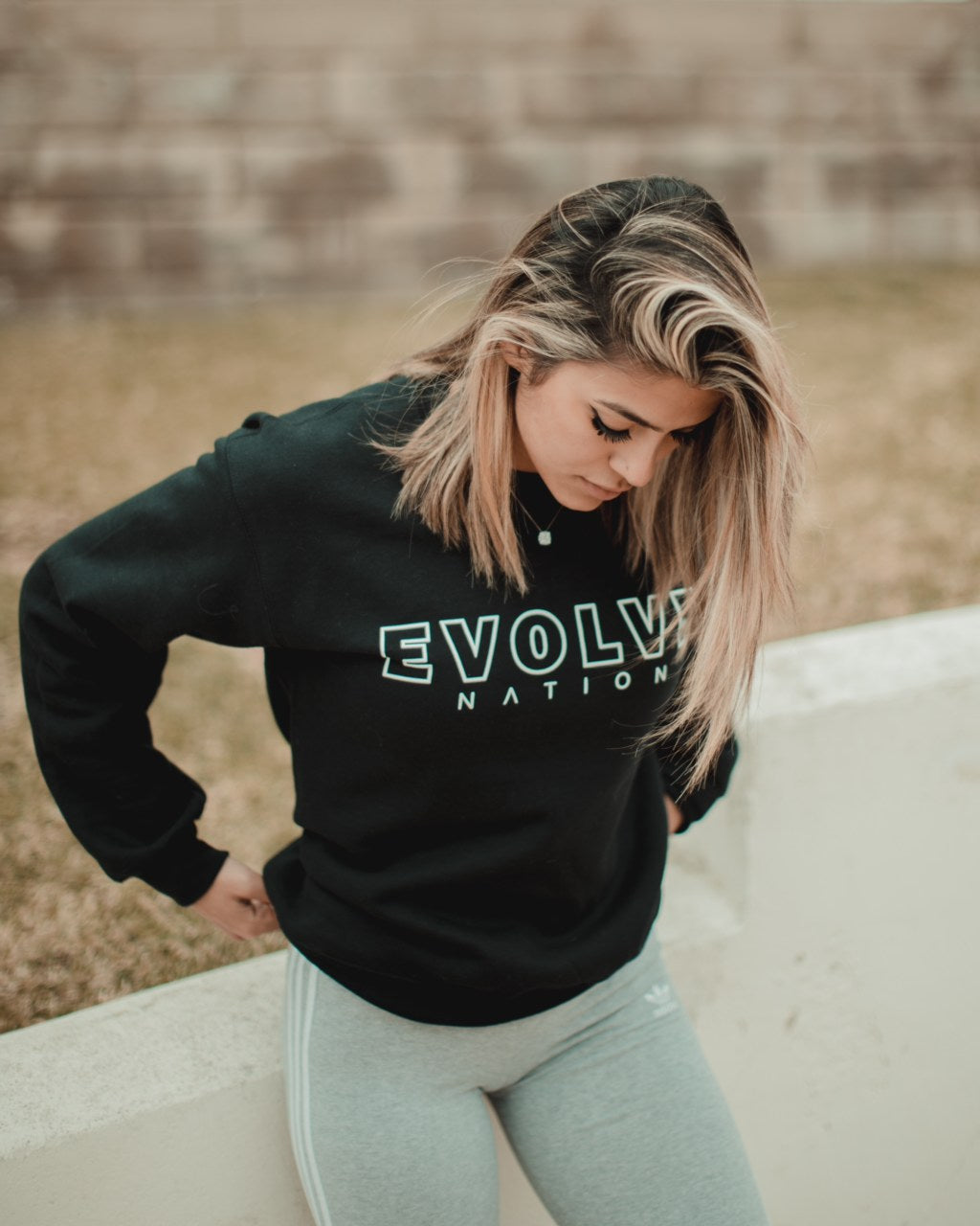 Evolve Nation Black Signature Sweater (Unisex)