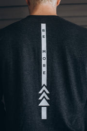 Men's Be More Long Sleeve - Vintage Black