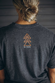 Men's Mind Over Matter Crew Tee - Charcoal