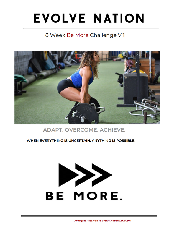 Be More Challenge Vol 1
