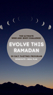 30 DAY FAST PROGRAM / RAMADAN