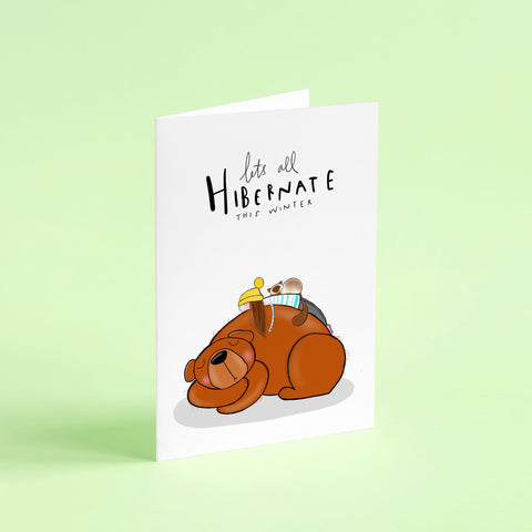 Lockdown Hibernation card