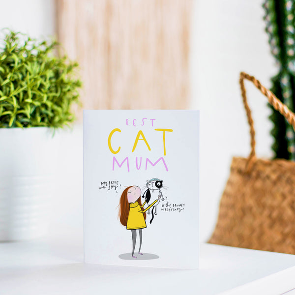 Cat Mum card