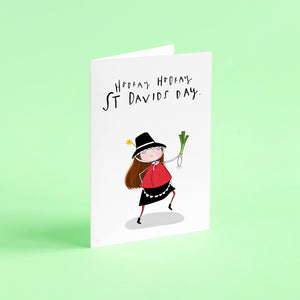 Hooray Hooray St Davids Day card!