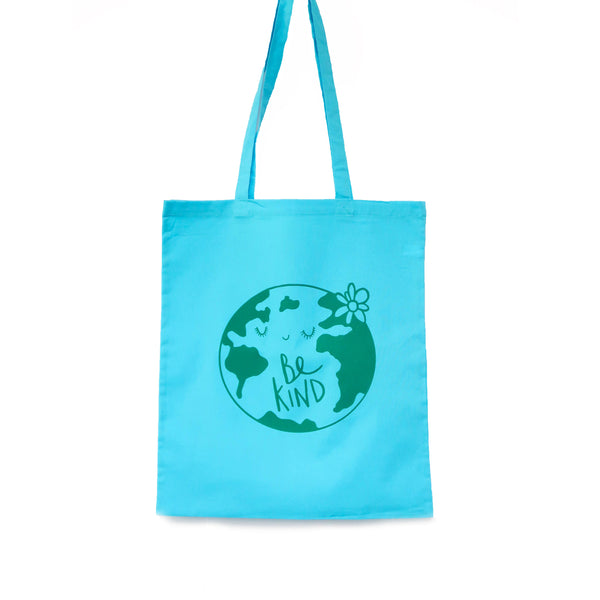 Be kind Bag • World tote bag • Environment bag • Eco bag - Hofficraft