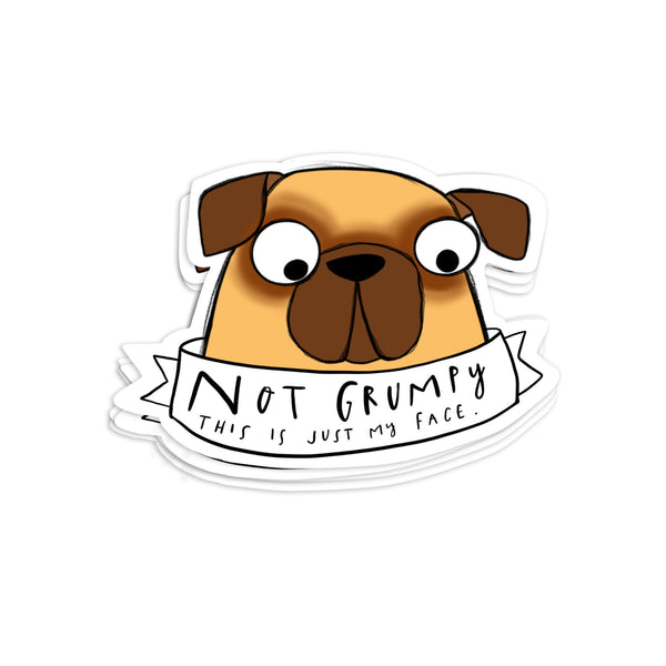 Pug stickers • Cute pug sticker sheet • Dog stickers - Hofficraft