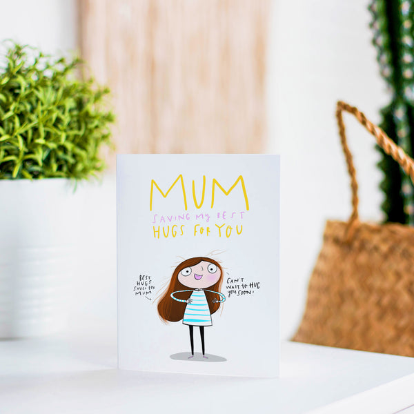 Mothers day hugs card