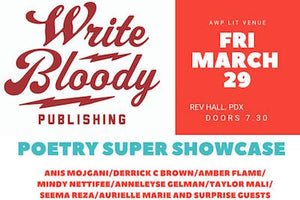 Write Bloody at AWP in Portland!